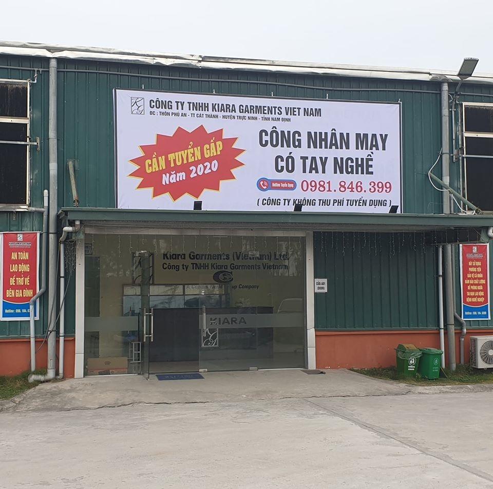 Công ty TNHH Kiara Garments Việt Nam