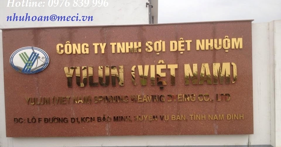 Công ty TNHH Sợi dệt nhuộm Yulun Việt Nam
